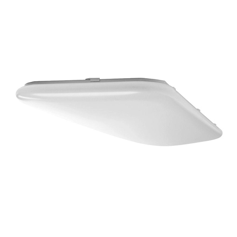 Hampton Bay 4 ft. x 1.5 ft. White LED Traditional Ceiling Flushmount
