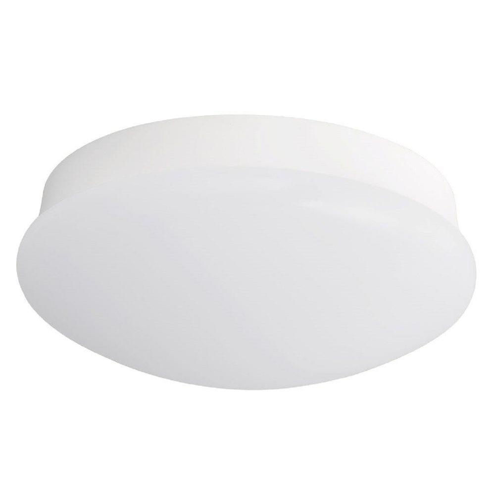 Commercial Electric 11 in. 100-Watt Equivalent Bright White Integrated LED Flushmount