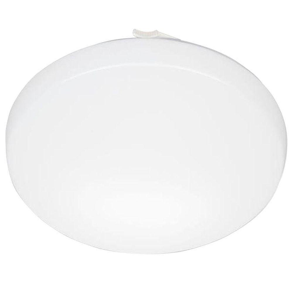 Lithonia Lighting 11 in. Round Low-Profile White LED Flushmount